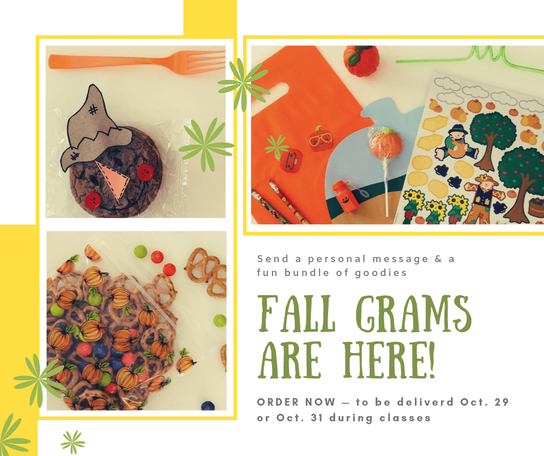 Fall Grams Are Here!